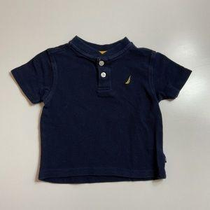 Nautica Polo Navy Blue Shirt